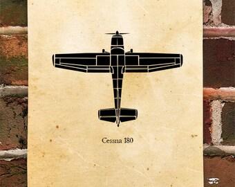 KillerBeeMoto: Limited Print Vintage Recreational Aircraft Print 1 of 100