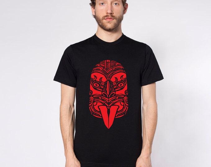 KillerBeeMoto: Haka Māori War Face Carving Short & Long Sleeve T-Shirts