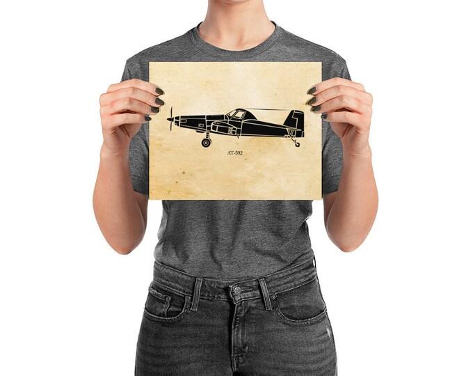 KillerBeeMoto: Vintage Aerial Sprayer Aircraft Limited Print