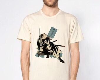 KillerBeeMoto: Ebiya Rinnosuke Samurai With Sword Short & Long Sleeve T-Shirt