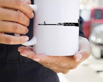 KillerBeeMoto:    Dragunov Sniper Rifle Coffee Mug