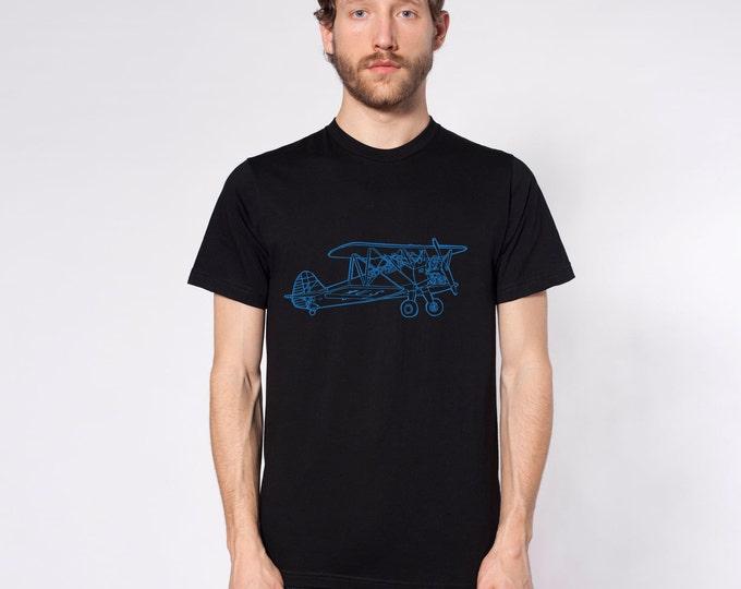KillerBeeMoto: Model 75 Bi-Plane Short & Long Sleeve Shirt