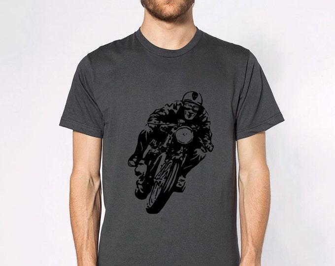 KillerBeeMoto: Faster Faster Cafe Racer Short & Long Sleeve Motorcycle Shirts