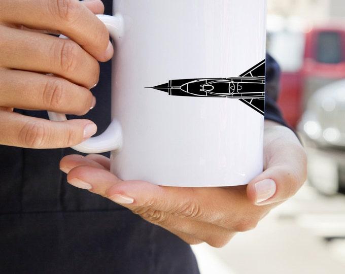 KillerBeeMoto:   Coffee Mug Mikoyan-Gurevich MiG-21 Jet Fighter Aircraft