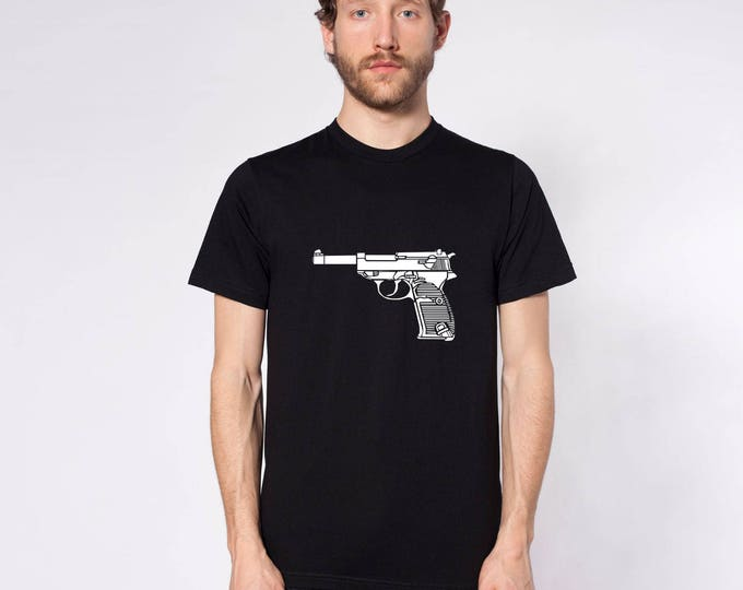 KillerBeeMoto: Limited Release Walther P38 Pistol Short or Long Sleeve Shirt