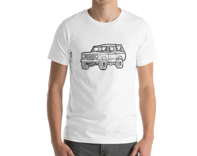 KillerBeeMoto: Limited Release Vintage SUV Truck Scout Short & Long Sleeve Shirts