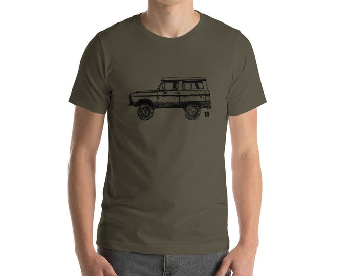 KillerBeeMoto: Limited Release Vintage American SUV Truck Illustration Short & Long Sleeve Shirts