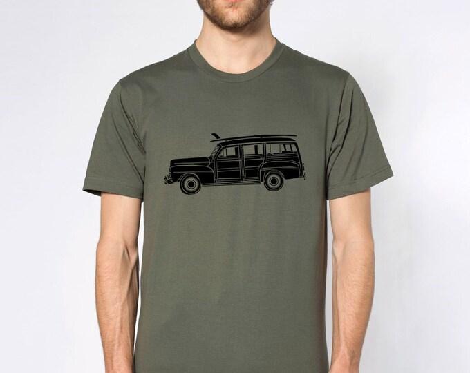 KillerBeeMoto: Woody Surfer Station Wagon Short & Long Sleeve Shirt