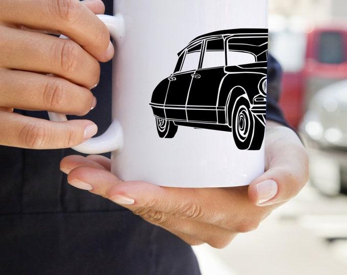 KillerBeeMoto:    French Engineered Car Design On White Coffee Mug