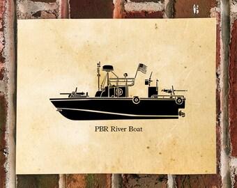 KillerBeeMoto: River Patrol Boat (PBR) Water Craft Print 1 of 50