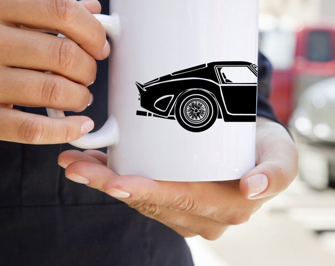 KillerBeeMoto:    Limited Release Vintage Italian Race Car Coffee Mug (White)