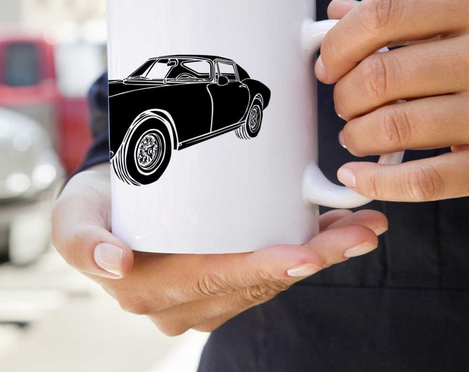KillerBeeMoto:   Coffee Mug With Vintage Italian Engineered Sports Car
