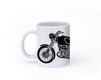 KillerBeeMoto:    Limited Release 1970 German Engineered Motorcycle Mug (White)