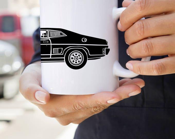 KillerBeeMoto:   Coffee Mug With American Muscle Car