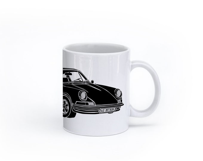 KillerBeeMoto:    Limited Release German Engineered Sports Car Coffee Mug (White)