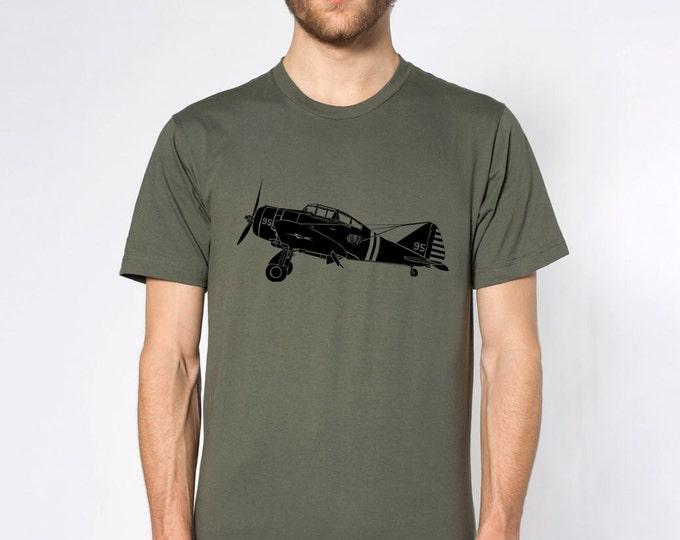 KillerBeeMoto: P-35 Fighter Plane Short & Long Sleeve Shirt