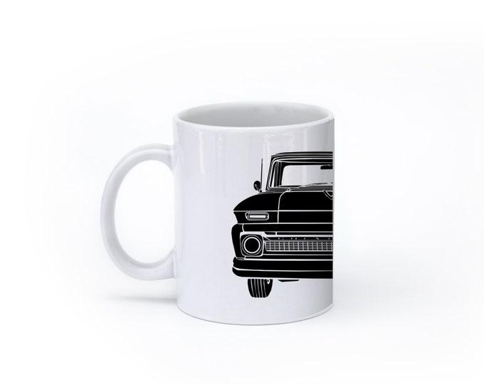 KillerBeeMoto:    Limited Release Vintage Era American Pickup Truck Coffee Mug (White)