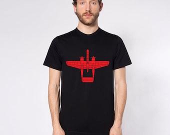 KillerBeeMoto: P-61 Black Widow Short Or Long Sleeve T-Shirt