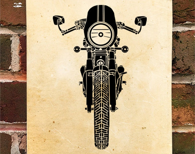 KillerBeeMoto: Limited Print British Engineered Cafe Racer 1 of 50