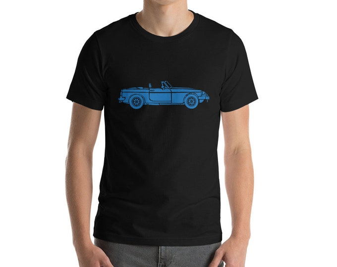 KillerBeeMoto: Limited Release Vintage British Convertible Sports Car Short Or Long Sleeve Shirts