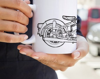 KillerBeeMoto:   Limited Release German Engineered Motorcycle Coffee Mug