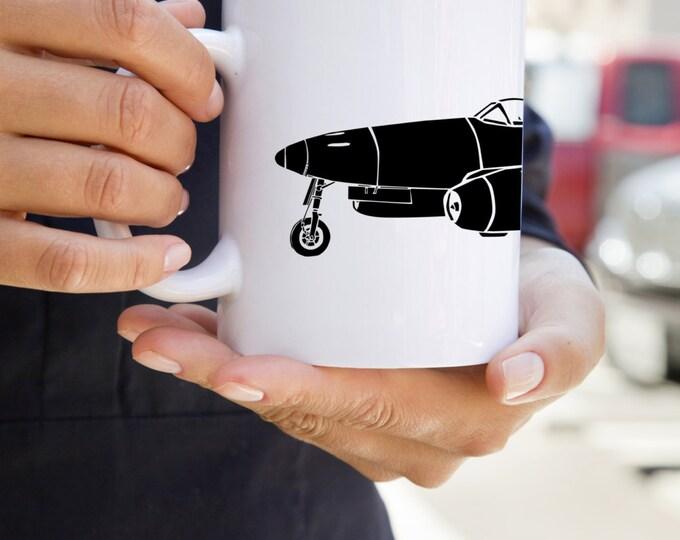KillerBeeMoto:    Coffee Mug Me 262 Schwalbe / Sturmvogel Fighter Jet