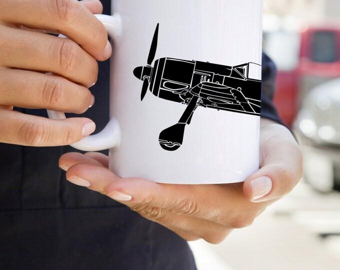 KillerBeeMoto:   Coffee Mug Focke-Wulf Fw 190 Würger German Fighter Plane