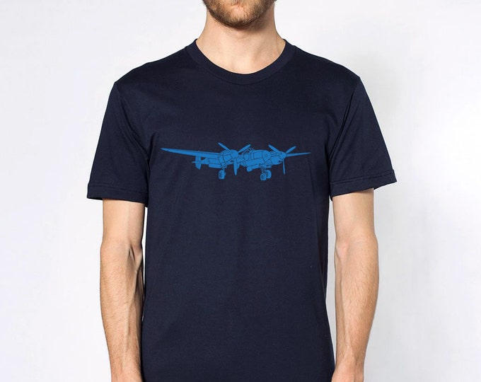 KillerBeeMoto: P-38 Lightning Fighter Plane Short & Long Sleeve Shirt