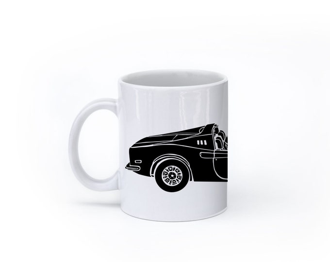 KillerBeeMoto:    Limited Release Italian Sports Car Coffee Mug (White)