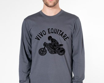 KillerBeeMoto: Live To Ride (Latin) Short And Long Sleeve Motorcycle Shirts