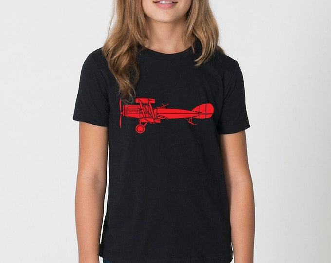 KillerBeeMoto: F2B World War One Fighter Biplane Short & Long Sleeve Shirt