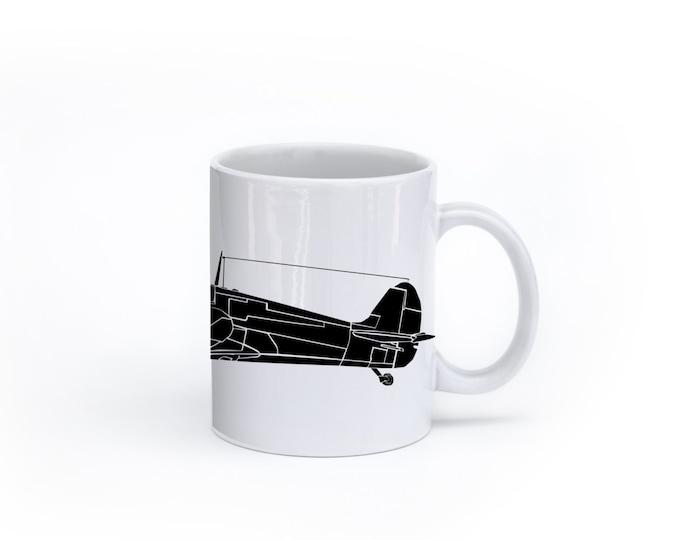 KillerBeeMoto:  Spitfire Fighter Aircraft Coffee Mug