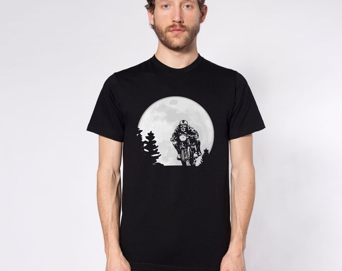 KillerBeeMoto: Midnight Cafe Racer Short & Long Sleeve Shirts