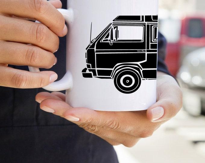 KillerBeeMoto: Limited Release Vintage Camper Van Coffee Mug