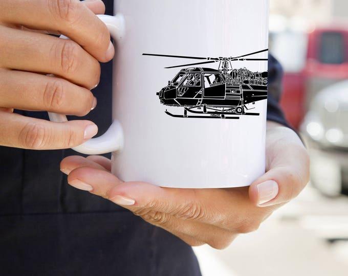 KillerBeeMoto:  Coffee Mug British Army Scout Helicopter