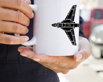 KillerBeeMoto:   Coffee Mug Grumman A6 Intruder Attack Aircraft Coffee Mug