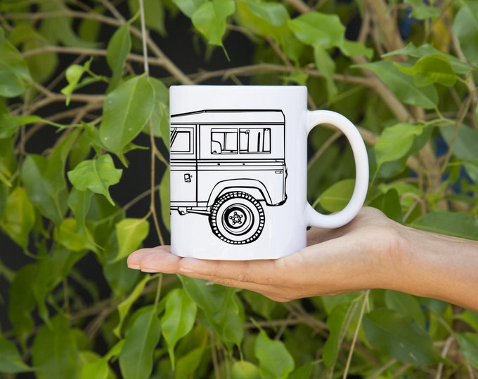 KillerBeeMoto:    Coffee Mug Limited Release British Off Road Vehicle