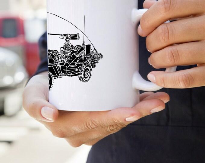 KillerBeeMoto:  MB World War Two Scout Truck Coffee Mug