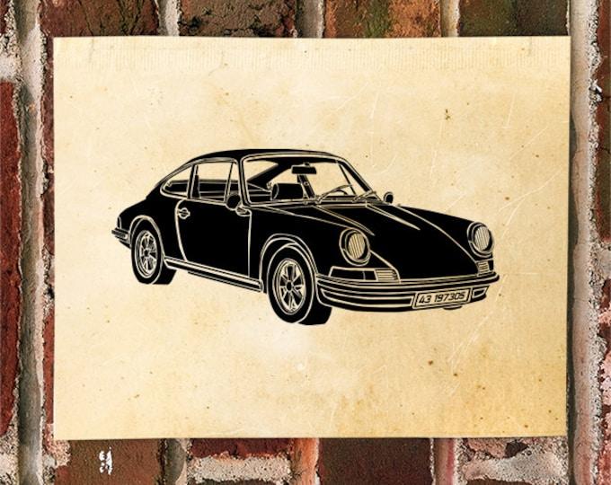 KillerBeeMoto: Limited Print German Engineered Sportscar Automotive Print 1 of 50