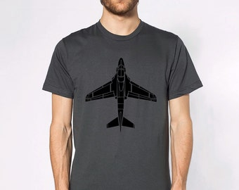 KillerBeeMoto: Limited Release Grumman A6 Intruder Atack Aircraft Short Or Long Sleeve T-Shirt