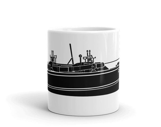 KillerBeeMoto: World War Two Motor Torpedo Boat PT-109 Coffee Mug