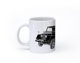 KillerBeeMoto:    Minerva Off Road Vehicle (White) Coffee Mug