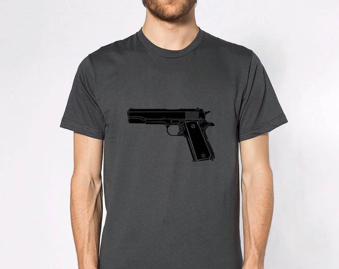 KillerBeeMoto: M1911 Pistol Short & Long Sleeve Shirts