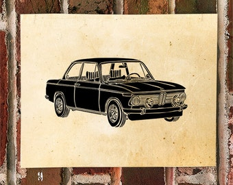 KillerBeeMoto: Limited Print German Sports Car Automotive Print 1 of 50