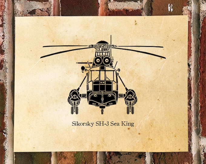 KillerBeeMoto: Limited Print Sikorsky SH-3 Sea King Helicopter
