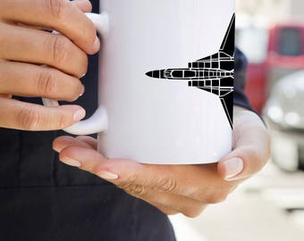 KillerBeeMoto:  F14 Tomcat Navy Fighter Jet Coffee Mug