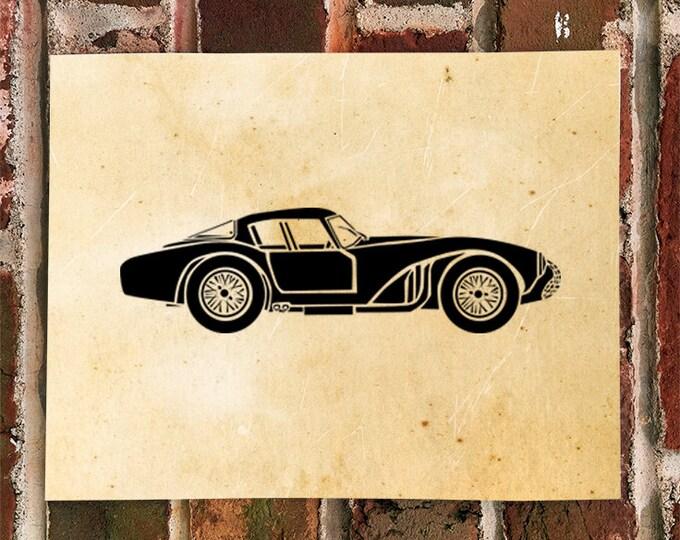 KillerBeeMoto: Limited Print LeMans Aston Martin DB3S Race Car Print 1 of 50