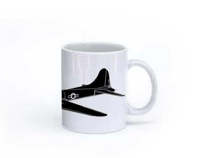 KillerBeeMoto:    B17 Flying Fortress Bomber Coffee Mug