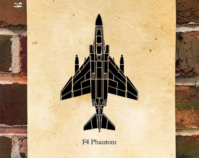 KillerBeeMoto: Limited Print F-4 Phantom II Aircraft Print 1 of 50