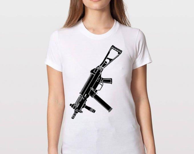 KillerBeeMoto: Limited Release Sub Machine Gun T-Shirt